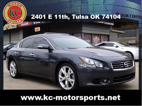 2012 Nissan Maxima for sale at KC MOTORSPORTS in Tulsa OK