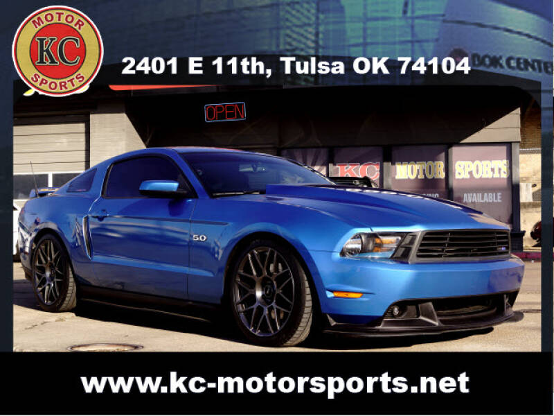 2011 Ford Mustang for sale at KC MOTORSPORTS in Tulsa OK