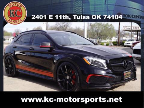 2015 Mercedes-Benz GLA for sale at KC MOTORSPORTS in Tulsa OK