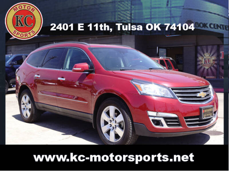 2014 Chevrolet Traverse for sale at KC MOTORSPORTS in Tulsa OK