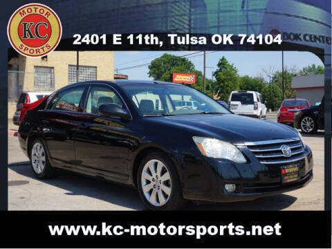 2007 Toyota Avalon for sale at KC MOTORSPORTS in Tulsa OK