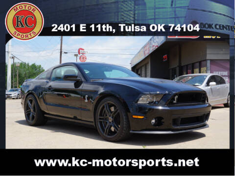 2013 Ford Shelby GT500 for sale at KC MOTORSPORTS in Tulsa OK
