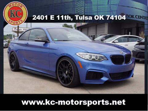 2015 BMW 2 Series for sale at KC MOTORSPORTS in Tulsa OK