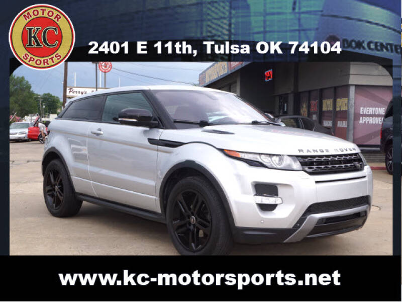 2013 Land Rover Range Rover Evoque Coupe for sale at KC MOTORSPORTS in Tulsa OK