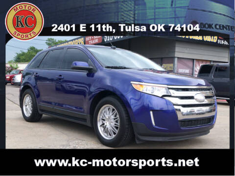 2013 Ford Edge for sale at KC MOTORSPORTS in Tulsa OK