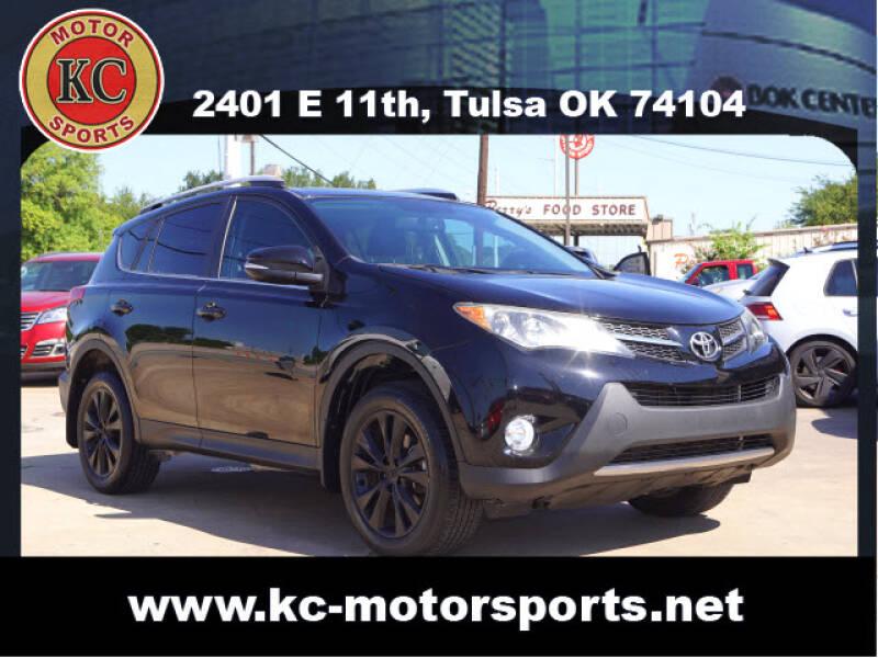 2013 Toyota RAV4 for sale at KC MOTORSPORTS in Tulsa OK