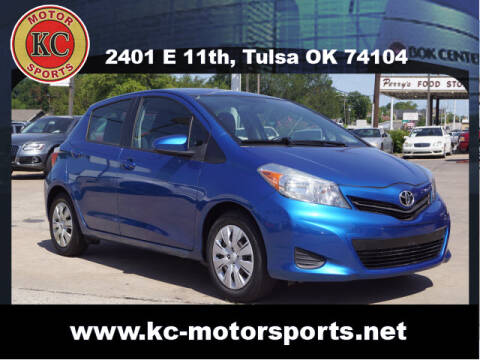 2014 Toyota Yaris for sale at KC MOTORSPORTS in Tulsa OK