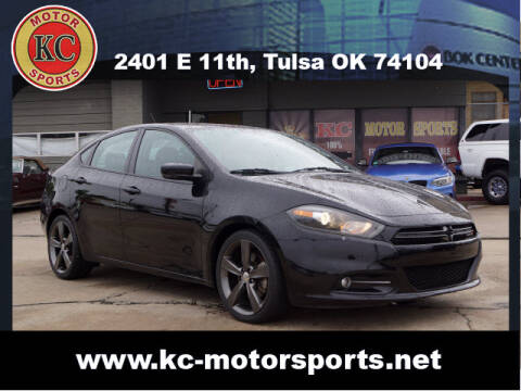 2014 Dodge Dart for sale at KC MOTORSPORTS in Tulsa OK