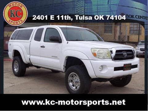 2008 Toyota Tacoma for sale at KC MOTORSPORTS in Tulsa OK