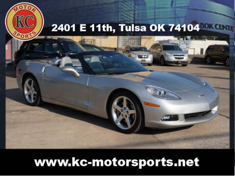 2005 Chevrolet Corvette for sale at KC MOTORSPORTS in Tulsa OK