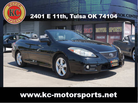 2008 Toyota Camry Solara for sale at KC MOTORSPORTS in Tulsa OK