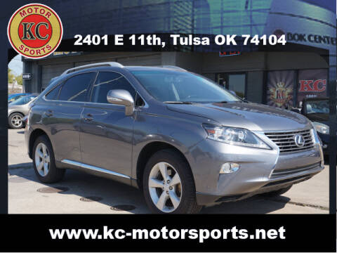 2013 Lexus RX 350 for sale at KC MOTORSPORTS in Tulsa OK