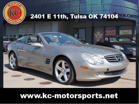 2006 Mercedes-Benz SL-Class for sale at KC MOTORSPORTS in Tulsa OK