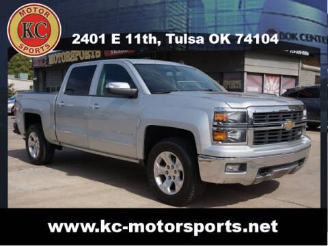 2014 Chevrolet Silverado 1500 for sale at KC MOTORSPORTS in Tulsa OK