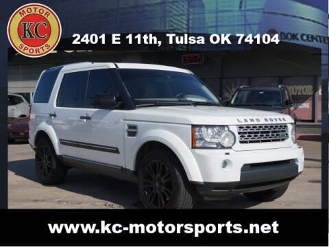 2011 Land Rover LR4 for sale at KC MOTORSPORTS in Tulsa OK