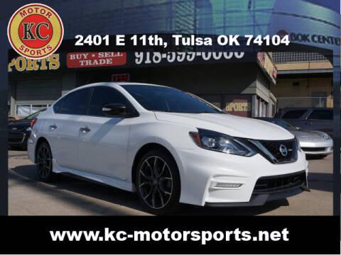 2017 Nissan Sentra for sale at KC MOTORSPORTS in Tulsa OK