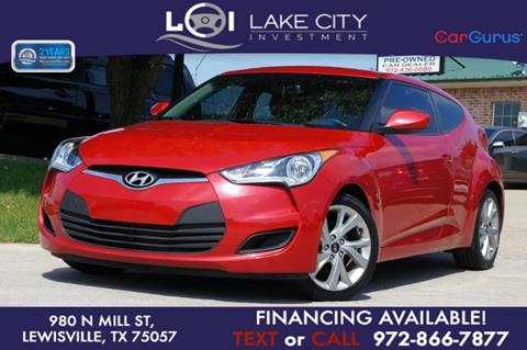 2016 Hyundai Veloster for sale in Lewisville, TX