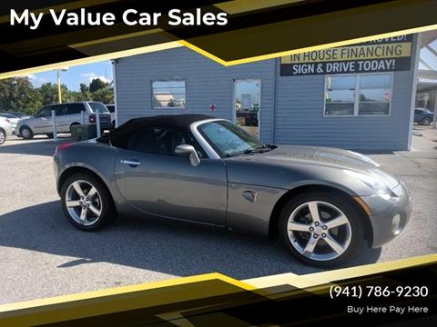 2006 Pontiac Solstice for sale in Venice, FL