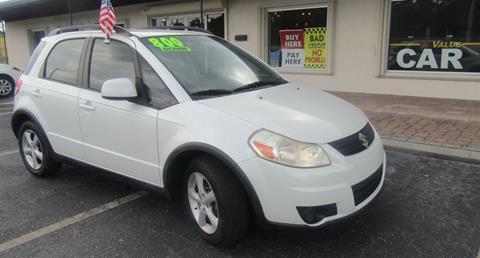 2009 Suzuki SX4 Crossover for sale at My Value Car Sales in Venice FL