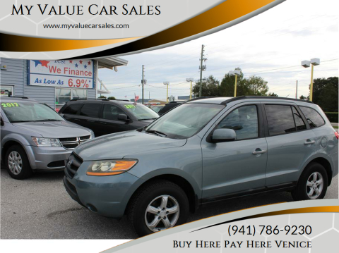 2008 Hyundai Santa Fe for sale at My Value Car Sales in Venice FL