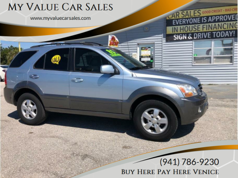 2008 Kia Sorento for sale at My Value Car Sales - Upcoming Cars in Venice FL