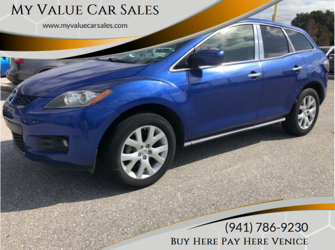 2007 Mazda CX-7 for sale at My Value Car Sales in Venice FL