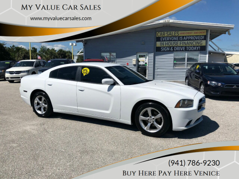 2014 Dodge Charger for sale at My Value Car Sales - Upcoming Cars in Venice FL