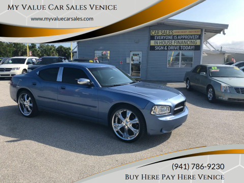 2007 Dodge Charger for sale at My Value Car Sales - Upcoming Cars in Venice FL