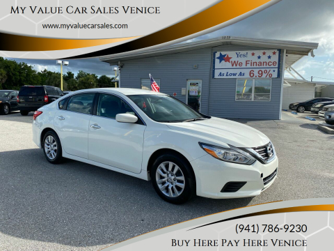 2017 Nissan Altima for sale at My Value Car Sales in Venice FL