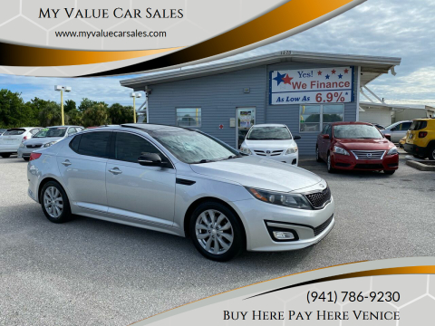 2014 Kia Optima for sale at My Value Car Sales - Upcoming Cars in Venice FL
