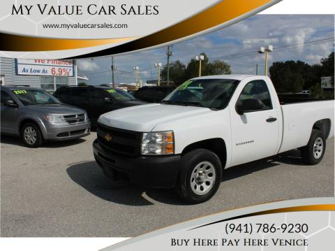 2012 Chevrolet Silverado 1500 for sale at My Value Car Sales in Venice FL