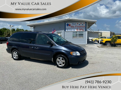 2007 Dodge Grand Caravan for sale at My Value Car Sales in Venice FL