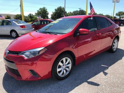 2015 Toyota Corolla for sale at My Value Car Sales in Venice FL