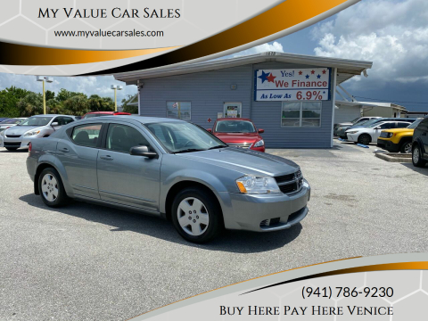 2008 Dodge Avenger for sale at My Value Car Sales - Upcoming Cars in Venice FL