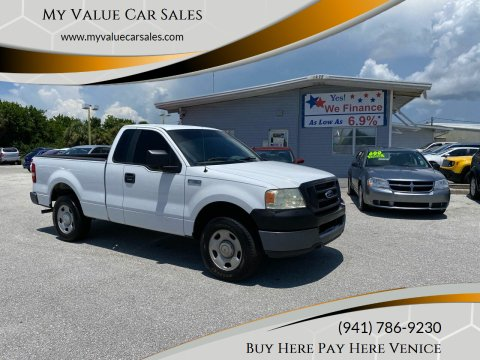 2005 Ford F-150 for sale at My Value Car Sales - Upcoming Cars in Venice FL