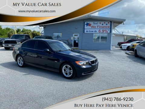 2008 BMW 3 Series for sale at My Value Car Sales in Venice FL
