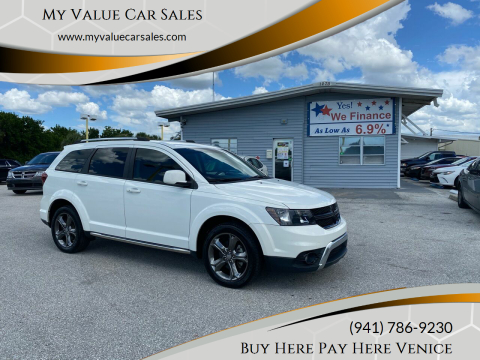 2016 Dodge Journey for sale at My Value Car Sales - Upcoming Cars in Venice FL