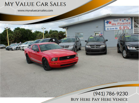 2006 Ford Mustang for sale at My Value Car Sales - Upcoming Cars in Venice FL