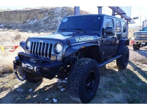 2016 Jeep Wrangler Unlimited for sale in Casper, WY