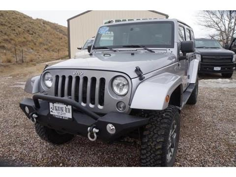 2014 Jeep Wrangler Unlimited for sale in Casper, WY