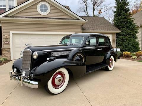 1937 Cadillac Sixty Special for sale in North Royalton, OH