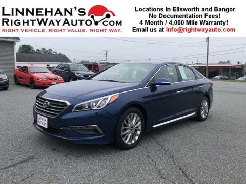 2015 Hyundai Sonata for sale in Bangor, ME