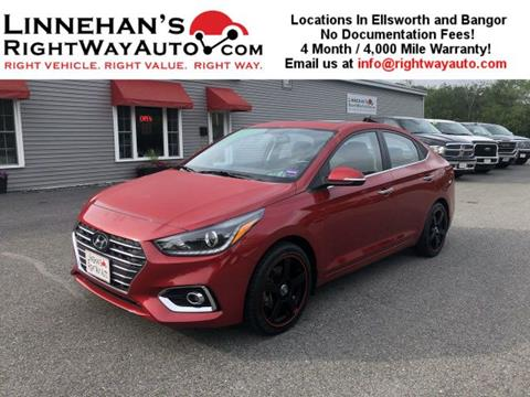 2019 Hyundai Accent for sale in Bangor, ME