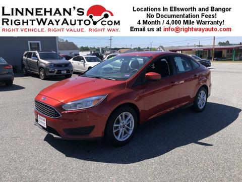 2018 Ford Focus for sale in Bangor, ME