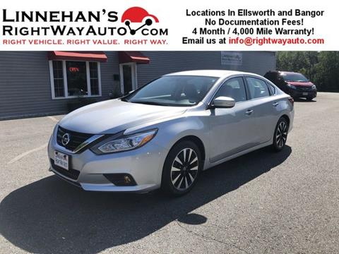 2018 Nissan Altima for sale in Bangor, ME