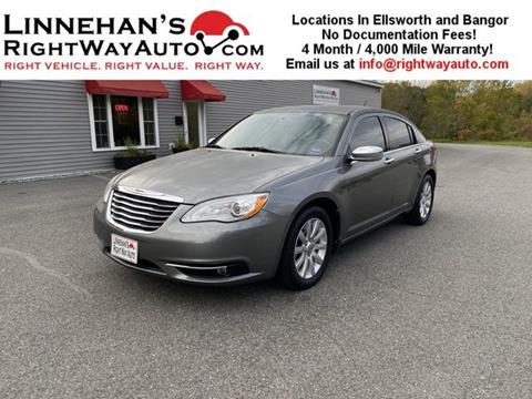 2013 Chrysler 200 for sale in Bangor, ME