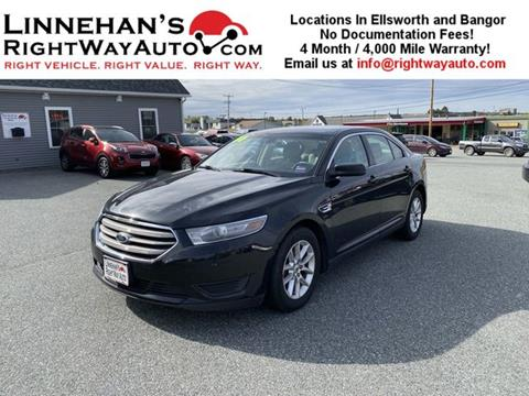 2014 Ford Taurus for sale in Bangor, ME