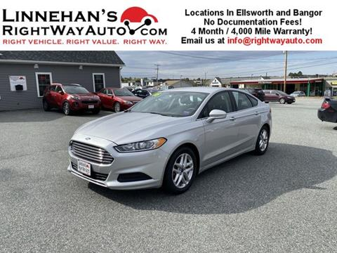 2016 Ford Fusion for sale in Bangor, ME