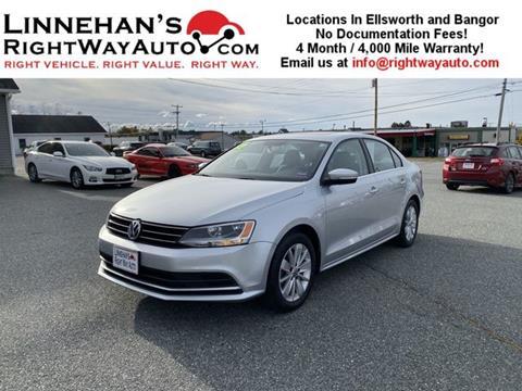 2015 Volkswagen Jetta for sale in Bangor, ME