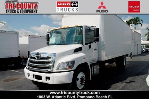 2017 Hino 268 for sale in Pompano Beach, FL